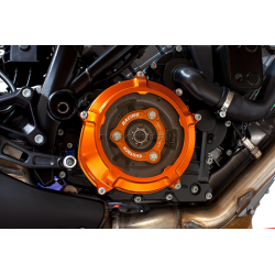 EVOTECH Clutch cover and pressure plate for LC8 Engines