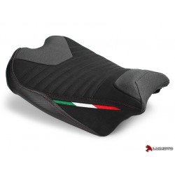 LUIMOTO Corsa Seat Cover (Rider) for PANIGALE V4 18-