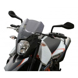 """MRA Touring Windshield """"T"""" for 990 SUPERMOTO SM / SMR 08-"""