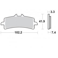 BRAKING Kit de Pastilhas P1