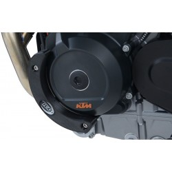 R&G Deslizador da Tampa de Motor (Esquerda) para DUKE 790 18- / 790 ADVENTURE 19-