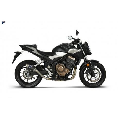 """TERMIGNONI """"GP CLASSIC"""" Ponteira de Escape para CB500 X/F 19- / CBR500R 19-"""