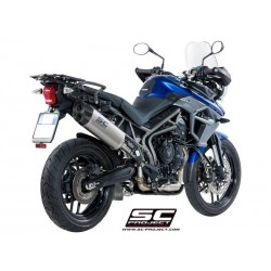 SC PROJECT ADVENTURE Ponteira de Escape para TIGER 800 17-