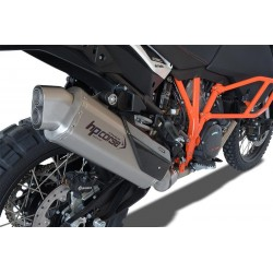HP CORSE 4-TRACK Silencer for KTM ADVENTURE 1050 / 1090 / 1190 / 1290