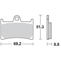 BRAKING P1 Brake Pads Kit