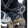 R&G Crash Pads Aero Style para Ducati Scrambler Classic & Icon (800) '15-'18, Ducati Scrambler Street Classic '18