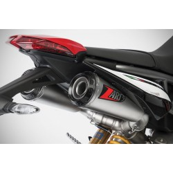 ZARD TOP GUN Silencers for HYPERMOTARD 950 19-