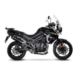 LEOVINCE NERO Ponteira de Escape para TIGER 800 XR/XRX/XCX/XRT/XCA/XRX LRH/XCX LRH 18-