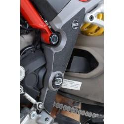 R&G Kit de Proteção de Botas para Multistrada 1200 / 1200S / Mulitstrada 950 17- / Multistrada 1260 18-
