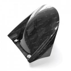LIGHTECH Carbon front mudguard for RSV4 Factory 19-