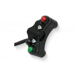 CNC Racing Interruptor para guiador lado esquerdo para RSV4 (RR) 17-18 / V4 1100 (RR) 17-