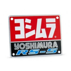 YOSHIMURA Muffler Badge RS-5