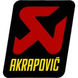 AKRAPOVIC Autocolante para Escape 60x55 mm