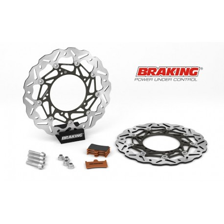 BRAKING Kit de Disco Oversize (Ø320mm) para YAMAHA MT09 2014-2020