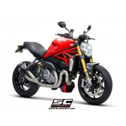 SC PROJECT Colectores para MONSTER 1200 17-