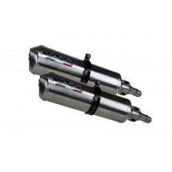 GPR SATINOX Ponteiras de Escape para TDM 850 91-01