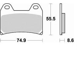 BRAKING Pads Font Kit