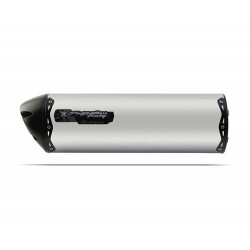 TWO BROTHERS M2 Silencer for TIGER 800 11-16