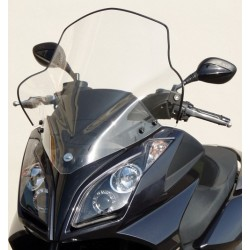 F.FABBRI Windshield for KYMCO DOWNTOWN 125-200-300 09-15 / XTOWN 300 16-17