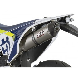 SC PROJECT OVAL Ponteira de Escape para Husqvarna - 701