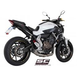 SC PROJECT Escape completo com ponteira Cónica Yamaha MT07