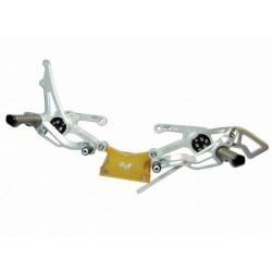 """ROBBYMOTO Kit de Peseiras """"RACE"""" para GSX-R 600-750 06-14"""
