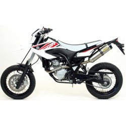ARROW STREET THUNDER Ponteira de Escape para WR 125 R 09-12 / WR 125 X 09-16