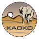 KAOKO Estabilizador do acelerador para motos HONDA (30mmØ exteriror)