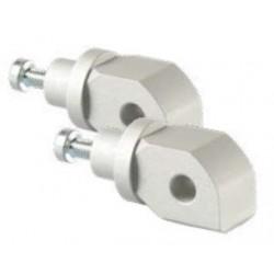 LIGHTECH Adaptadores de Pousa Pés traseiros para MT-09 14-