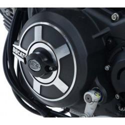 R&G Deslizador da Tampa de Moto Esquerda para DUCATI SCRAMBLER 15-