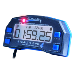 STARLANE Stealth GPS-4 Laptime