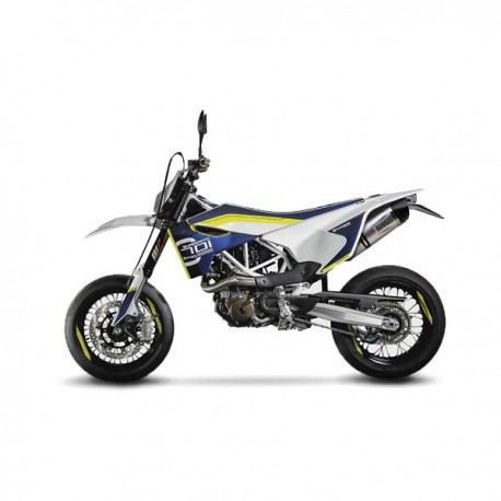 leovince lv one evo silencer for husqvarna 701 enduro. Black Bedroom Furniture Sets. Home Design Ideas