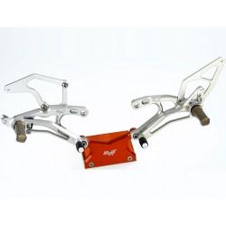 "ROBBYMOTO Kit de Peseiras ""Standard"" para GSX-R 600-750 06-14"